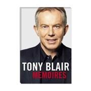 iCanvas Political Tony Blair Book Cover Photographic Print on Canvas; 40'' H x 26'' W x 0.75'' D