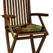 Blazing Needles Bar Height Folding Patio Chair Cushion (Set of 2); Farmington Terrace Apple