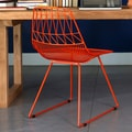 Bend Goods Lucy Side Chair; Orange
