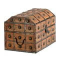 Barreveld Wood / Iron Chest; Small