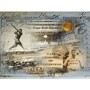 Graffitee Studios Cape Cod Leaguers Textual Art on Wrapped Canvas