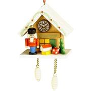 Christian Ulbricht Nutcracker Cuckoo Clock Ornament