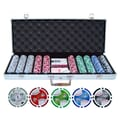 JP Commerce 500 Piece Double Royal Flush Poker Chip Set