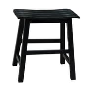 International Concepts 18.25'' Bar Stool; Black
