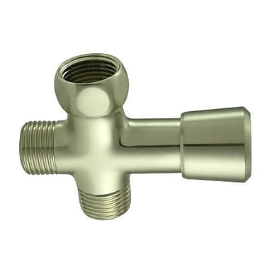 Elements of Design Shower Diverter; Satin Nickel