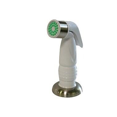 Elements of Design 5.25'' Plastic Kitchen Side Sprayer; Satin Nickel