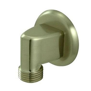 Elements of Design Brass Supply Elbow; Satin Nickel
