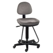 Alvin and Co. Viceroy Artist/Drafting Chair; Medium Gray