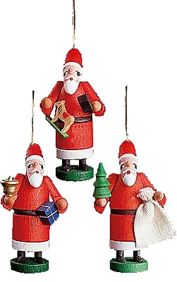 Alexander Taron Santas Ornament (Set of 3) WYF078275842026