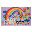 Fun Rugs Fun Time Educational Balloons Kids Rug; 6'8'' x 10'