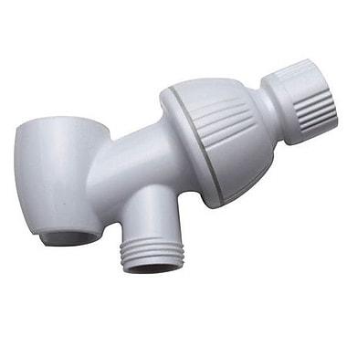 Elements of Design Shower Arm Bracket; White