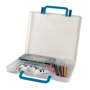 Alvin and Co. Portable Storage Case; Clear