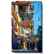 Studio Works Modern ''Utah City Street'' by Zhee Singer Painting Print on Wrapped Canvas
