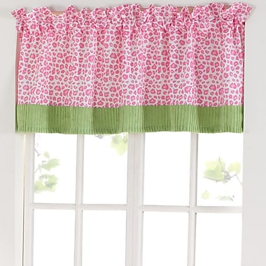 Laugh, Giggle & Smile Sassy Jungle Friends 57'' Window Curtain Valance