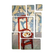 iCanvas 'Chair with Peaches' by Henri Matisse Painting Print on Canvas; 18'' H x 12'' W x 1.5'' D