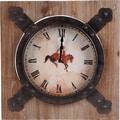 Wilco 19.75'' Horse Wall Clock