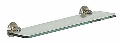 Alno Embassy 24'' x 2.63'' Bathroom Shelf; Polished Chrome WYF078276232127