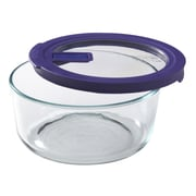 Pyrex No Leak Lids 7-Cup Round Storage Bowl