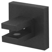 Alno Contemporary II Shelf Brackets Only; Bronze