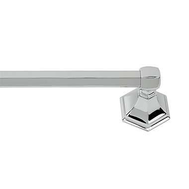 Alno Nicole Wall Mounted Towel Bar; Antique English Matte