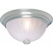Volume Lighting 1 Light Ceiling Fixture Flush Mount