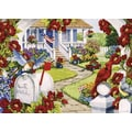 Willow Creek Press Red, White and Bluebird Puzzle