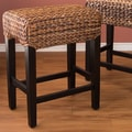 BirdRock Home Seagrass Bar Stool (Set of 2)
