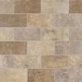 Marazzi Walnut Canyon 4'' x 2'' Decorative Brick Mosaic in Cream