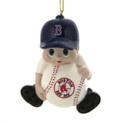 Team Sports America MLB Resin Lil Player Ornament; Boston Red Sox