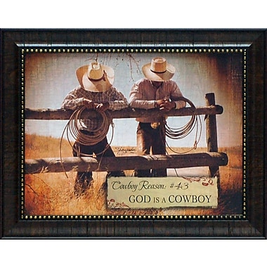 Artistic Reflections Cowboy Reason #43 by Eva, Shawnda Framed Graphic Art
