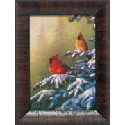 Artistic Reflections Winter Refuge by Jim Hansel Framed Painting Print