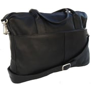 Piel Portfolio Briefcase; Black