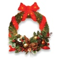 National Tree Co. Pre-Lit 24'' Sisal Wreath