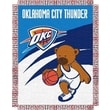 Northwest Co. NBA Baby Triple Woven Jacquard Throw; Oklahoma City Thunder