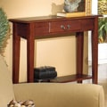 Wildon Home   Console Table; Red Cherry