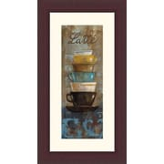 Printfinders 'Antique Coffee Cups II' by Silvia Vassileva Framed Graphic Art
