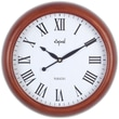 Opal Luxury Time Products 14.4'' Round Traditional Antique Look Wall Clock