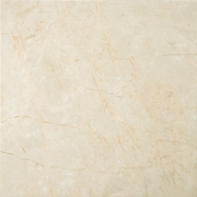 Emser Tile Natural Stone 18'' x 18'' Marble Field Tile in Crema Marfil Classico