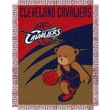 Northwest Co. NBA Baby Triple Woven Jacquard Throw; Cleveland Cavaliers