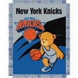 Northwest Co. NBA Baby Triple Woven Jacquard Throw; New York Knicks