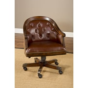 Hillsdale Harding Leather Game Chair