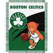 Northwest Co. NBA Baby Triple Woven Jacquard Throw; Boston Celtics