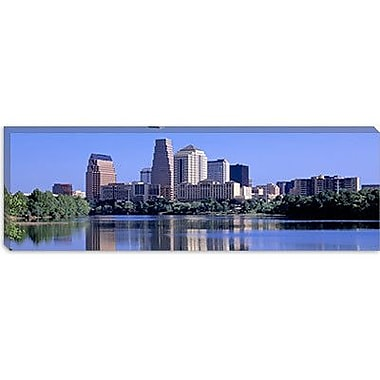 iCanvas Panoramic Austin, TX USA Photographic Print on Canvas; 12'' H x 36'' W x 0.75'' D