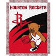 Northwest Co. NBA Baby Triple Woven Jacquard Throw; Houston Rockets