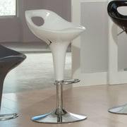Standard Furniture Cirque Bar Stool; White