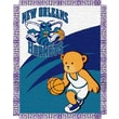 Northwest Co. NBA Baby Triple Woven Jacquard Throw; New Orleans Hornets