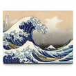 Artefx Decor Great Wave by Hokusai Graphic Art on Canvas