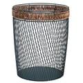 OIA Wire with Bead Trim Wastebasket