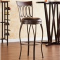 Wildon Home   Yorkshire 30'' Swivel Bar Stool with Cushion