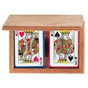 GLD Products Wood Card Holder